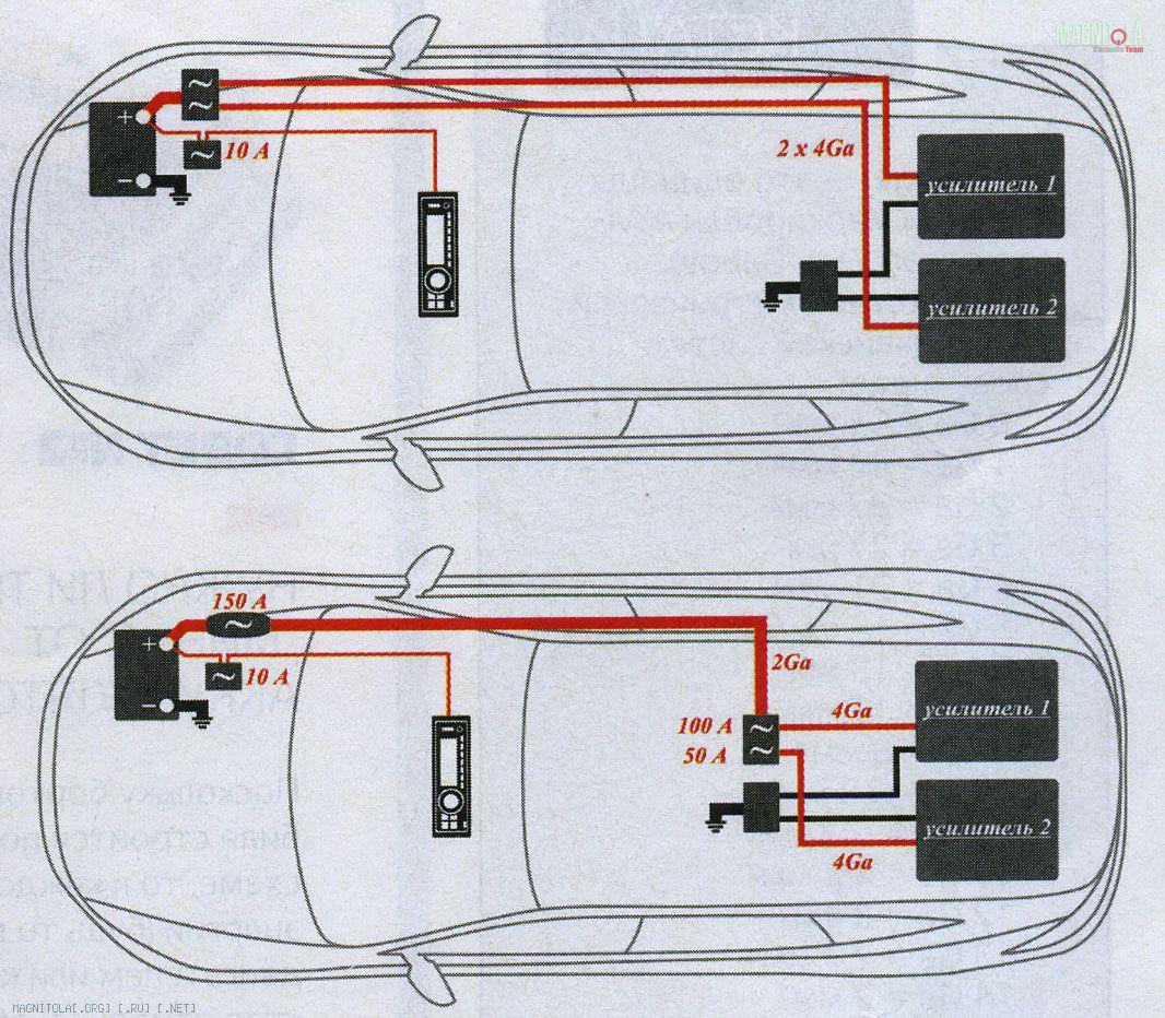 Схема подключения toyota магнитолы фото 950