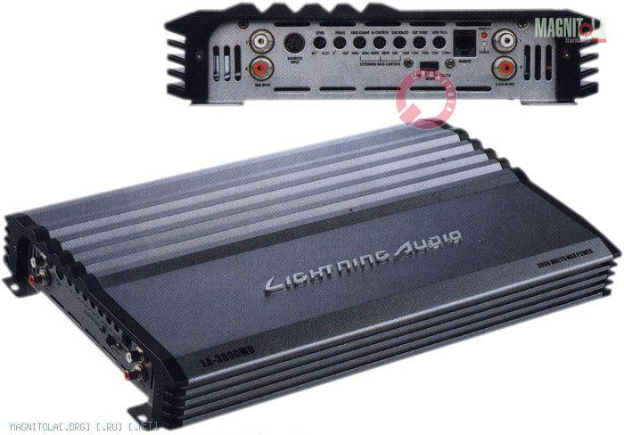 lightning audio la-3000md - Amplifiers / Head Units / Processors